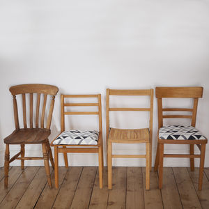 Mismatched Dining Chair Set #Two - furniture