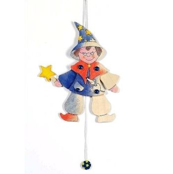 Decorate A Jumping Jack Wizard Toy Craft Kit