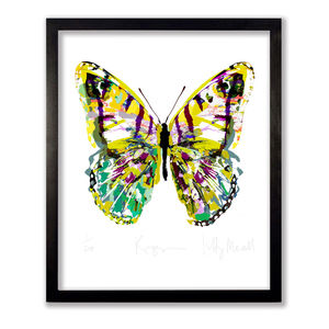 Rousseau Butterfly Print - contemporary art