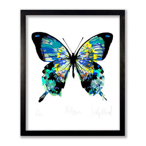 Matisse Butterfly Print - nature & landscape