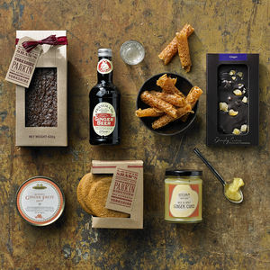 Ginger Lover's Hamper - trick or treat food