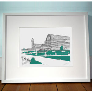 Crystal Palace London Print - maps & locations