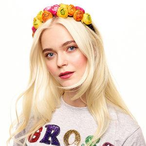 Poppy Floral 90's Headband