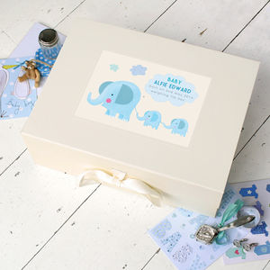Personalised Baby Keepsake Box - keepsakes