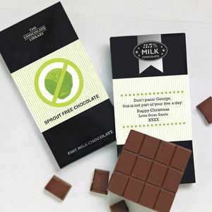 Sprout Free Chocolate - the brussels sprout collection