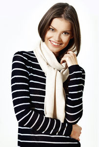 35% Off Pure Cashmere Oatmeal Long Scarf