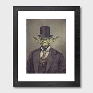 Sir Yoda Art Print - gifts for geeks