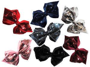 Boutique Cheer Bow On Bobble - hair accessories