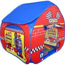 Pitstop Pop Up Tent With Race Track Floorprint