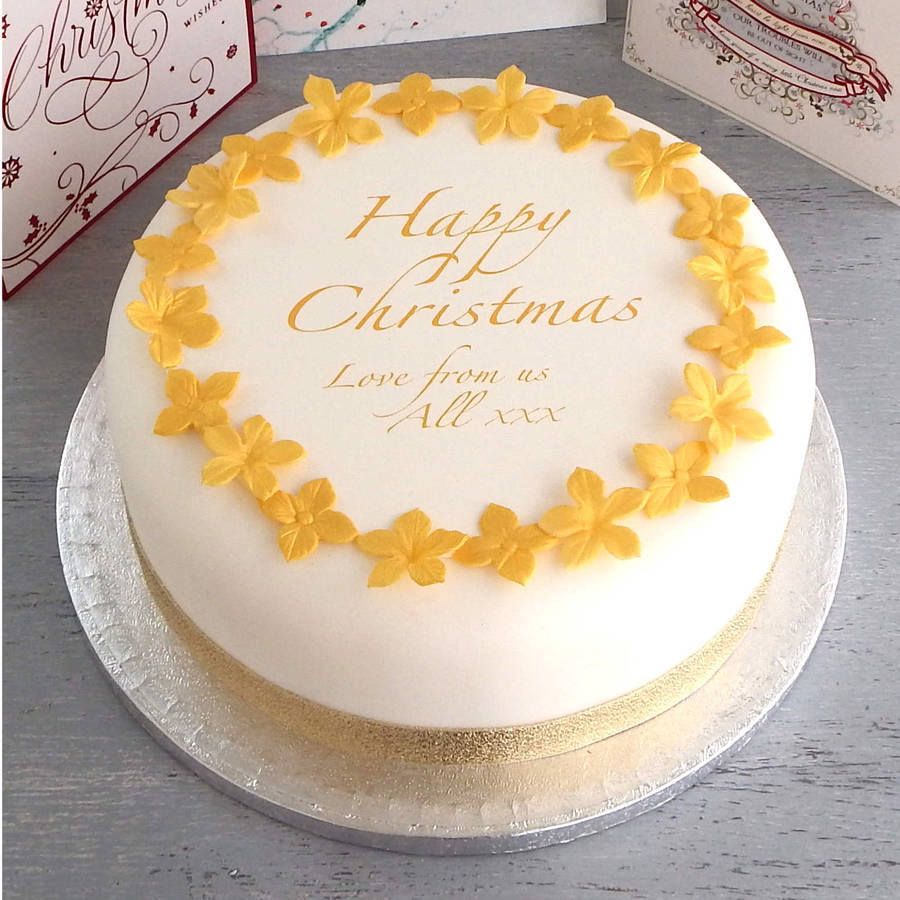 Where Can I Buy Christmas Cake Decorations