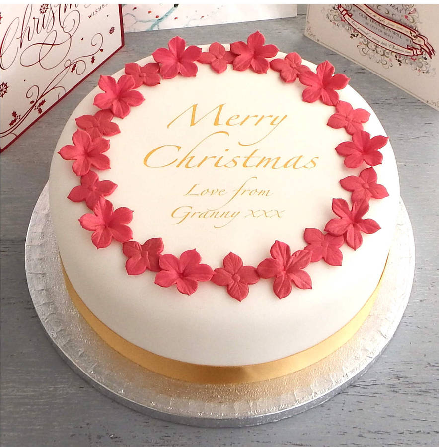 Quick And Easy Christmas Cake Decorating Ideas : personalised christmas cake decorating kit by clever ...