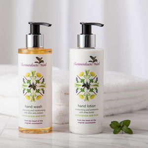 Lemongrass And Mint Moisturising Hand Care Set