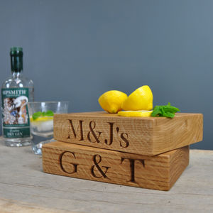 The Mini Oak Chopping Block - kitchen accessories