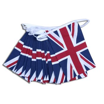 Union Jack Cotton Bunting