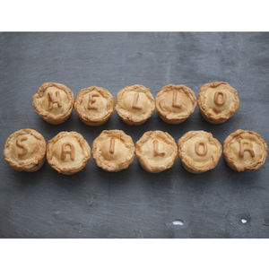 Personalised Pies - £25 - £50