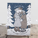 Christmas Card 'Bear Hug'
