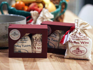 Make Your Own Festive Drink Gift - drink kits
