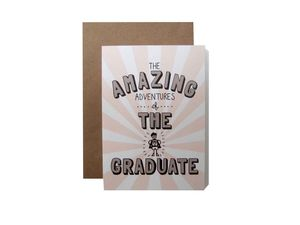 'Amazing Adventures Of The Graduate' Card