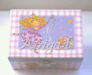 Personalised Princess Musical Keepsake Box - keepsakes