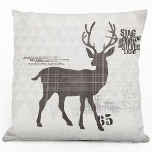 Stag Cushion - cushions