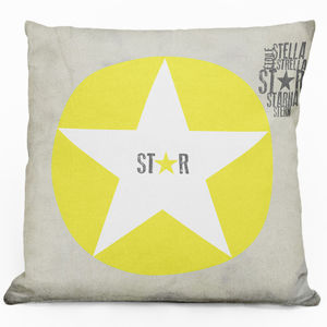 Stellar Cushion - children's room