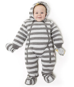 Charcoal And Grey Pram Suit - baby & child sale