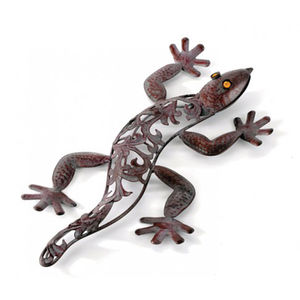 Lizard Metal Garden Wall Art Sculpture