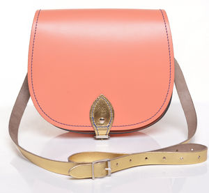 Coral Crush Saddlebag - gifts for her