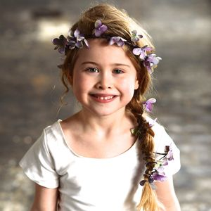 Florrie Petal Halo Flower Crown - wedding fashion