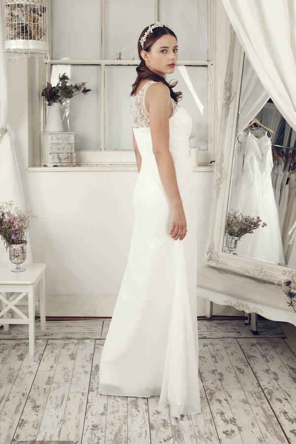 Sheath Wedding Dresses London : Sheath wedding dress by elliot claire london notonthehighstreet