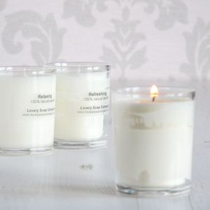 Scented Natural Candle