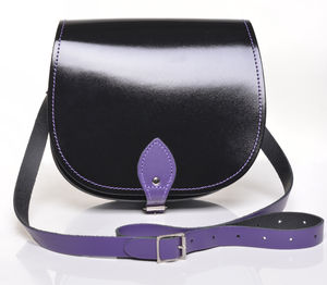 Violet Behaviour Saddlebag - bags & purses