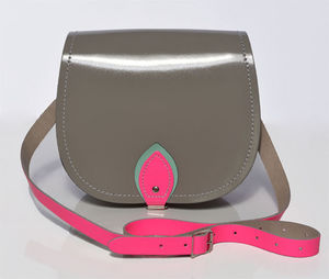 Ibiza Leather Saddlebag - bags & purses