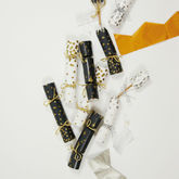 Sparkly Crackers With Wine Charms - christmas decorations