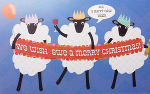 We Wish Ewe A Merry Christmas