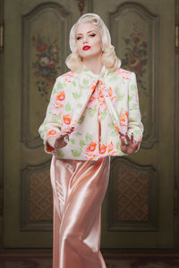 Reversible Bettie Bed Jacket - lingerie & nightwear