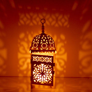 Moroccan Lantern Tea Light Holder - table decorations