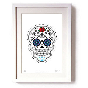 'Day Of The Dead Día De Muertos' Limited Edition Print - posters & prints