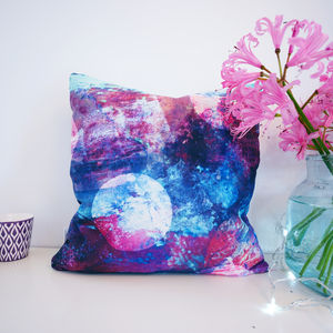 Night Sky Pattern Cushion - patterned cushions