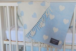 Merino Lambswool Baby Blankets - gifts for babies
