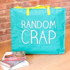 Large 'Random Crap' Storage Bag - storage & organisers