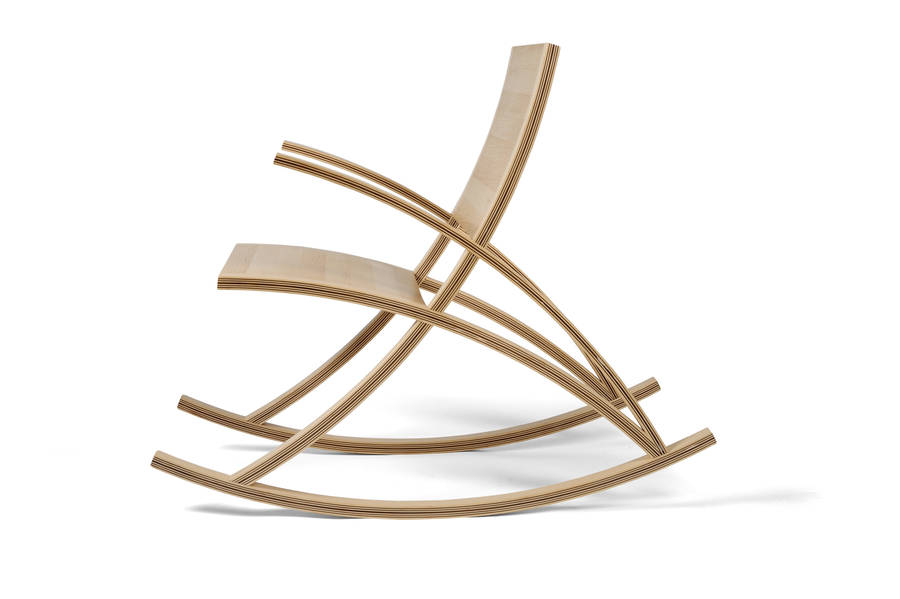 wishbone rocking chair by toby howes fine furniture  notonthehighstreet.com