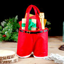 Santa Trousers Christmas Stocking Gift Bag