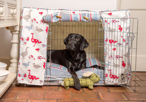 Dog Crate, Cover And Cushion - beds & sleeping