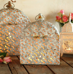 Moroccan Marrakesh Candle Holder Vintage Lantern - lights & lanterns