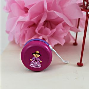 Wooden Pink Princess Yoyo - outdoor toys & games