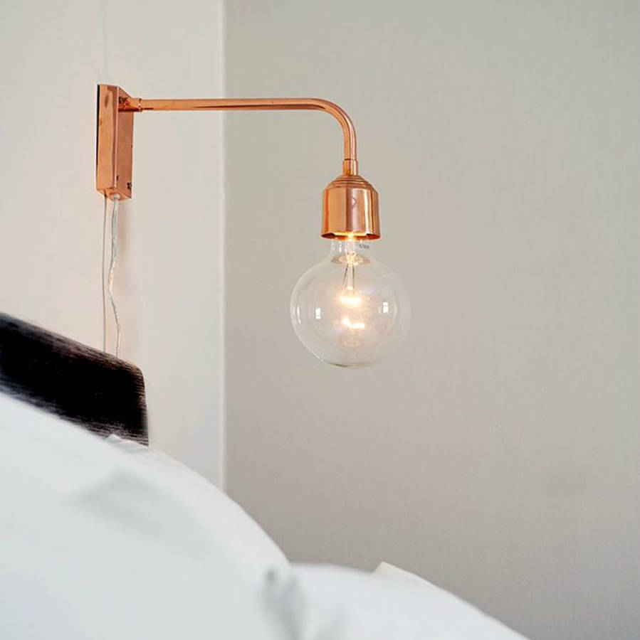 Wall Lamp Design Ideas : copper wall lamp by posh totty designs interiors notonthehighstreet.com