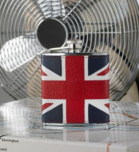 Classic 6oz Union Jack Hip Flask