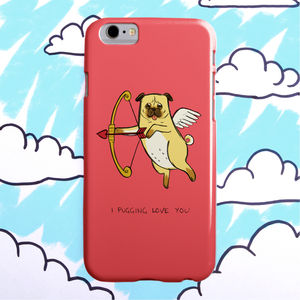 'Pug Love' iPhone Six And iPhone Six Plus Case
