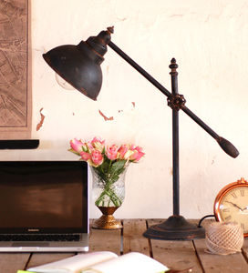 Industrial Steel Counterbalance Desk Lamp - refresh your home